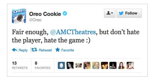 Oreo vs AMC 3